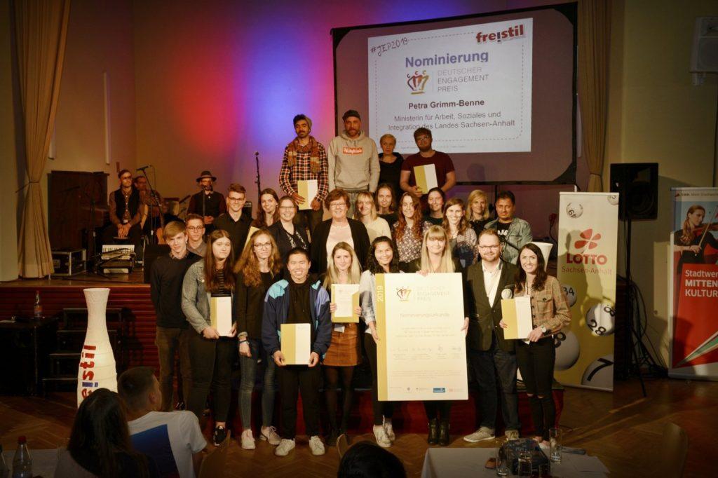 Preisträger*innen des 16. JugendEngagementPreises